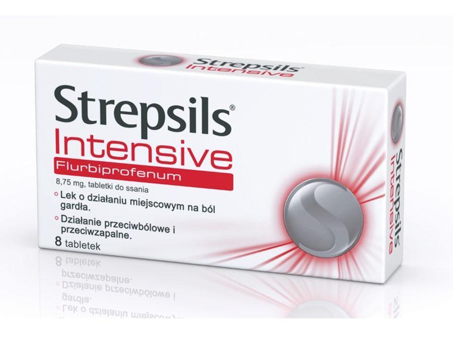 Стрепсилс интенсив при боли в горле