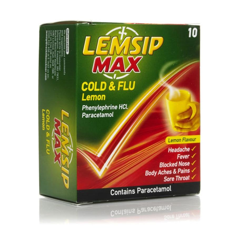 Препарат Лемсип в терапии симптомов ОРВИ